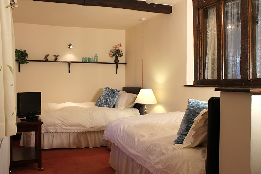Cosy Ground Floor Twin Bedroom