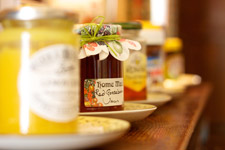 Try our homemade jams and marmalade